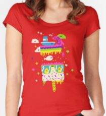 Happy Lolly Women's Fitted Scoop T-Shirt