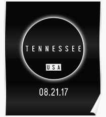 USA Tennessee Solar Eclipse 2017 Poster