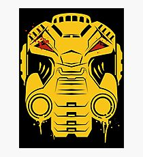 Imperial Fists Terminator - Warhammer 40k Photographic Print