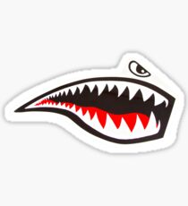 Tiger Shark - mirror Sticker