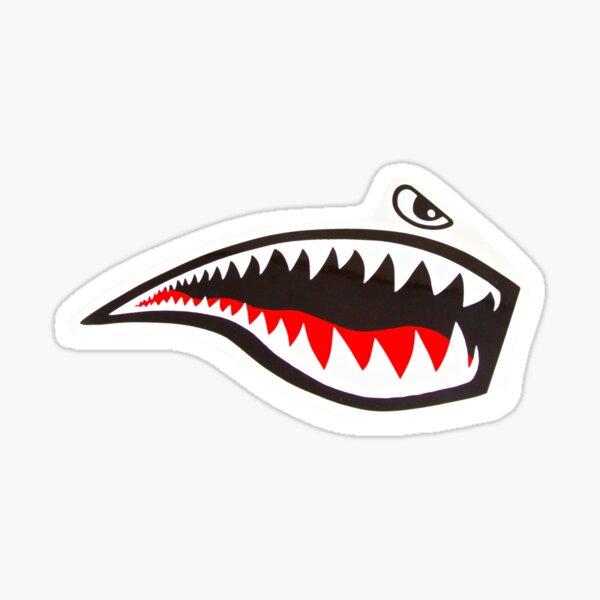 Tiger Shark - miroir Sticker