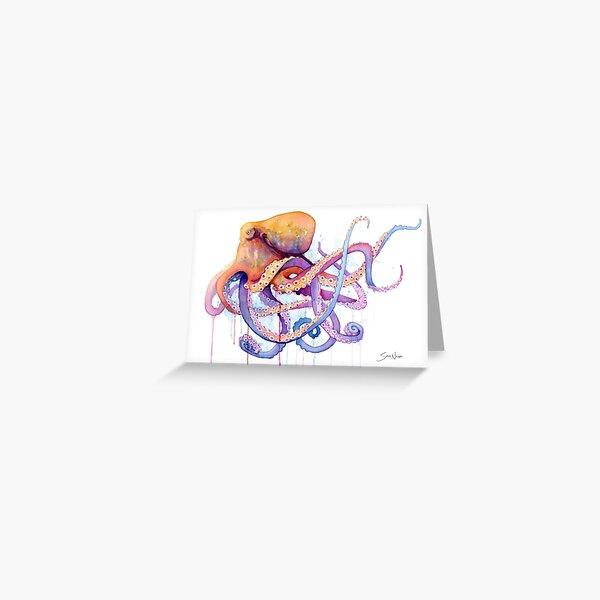 Octopus II Greeting Card