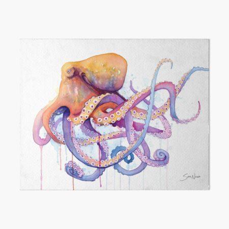 Octopus II Art Board Print