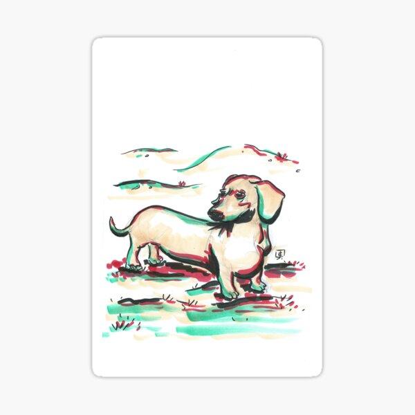 Marker Critters - Dachshund Sticker