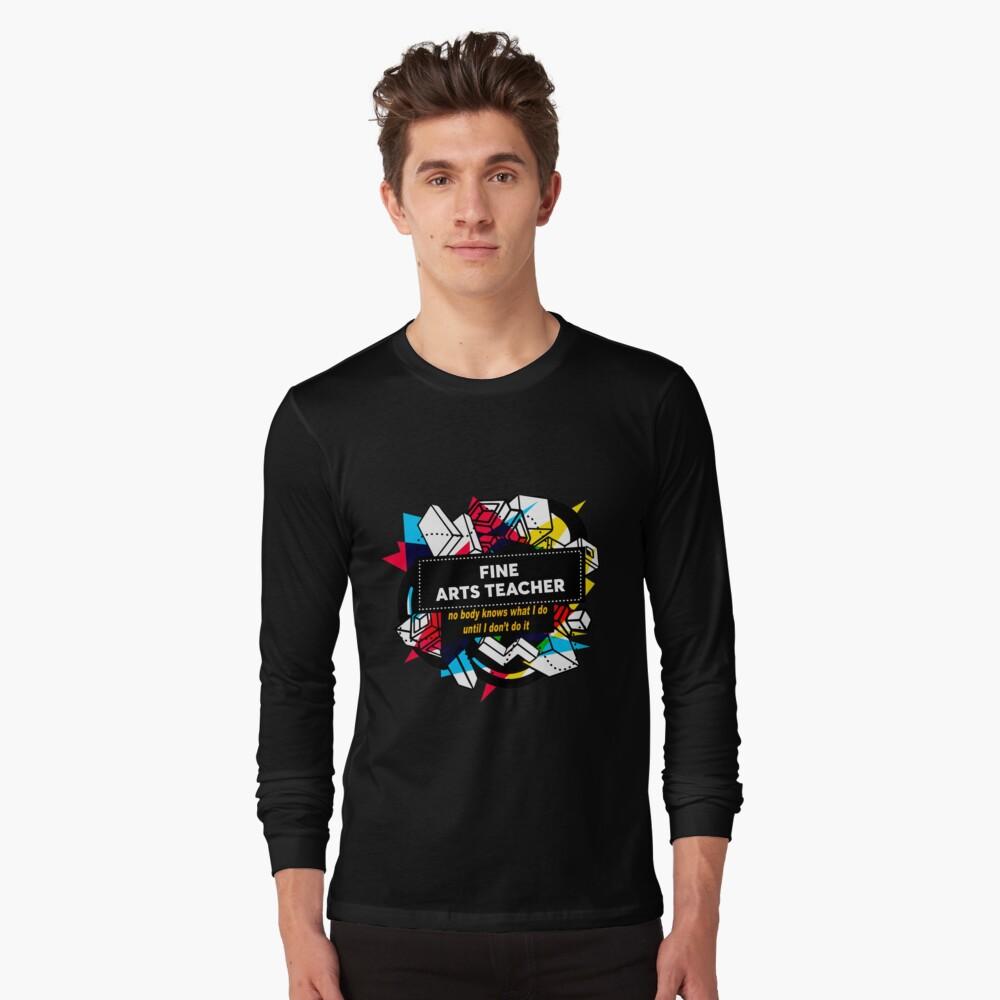 MAESTRO DE BELLAS ARTES Camiseta de manga larga