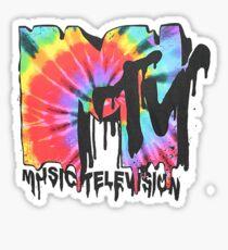 MTV Tie Dye Sticker