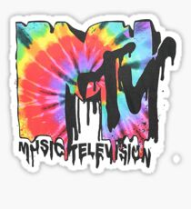 MTV Tie Dye Sticker