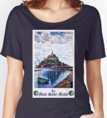 Saint Mitchel, France, vintage travel poster Women's Relaxed Fit T-Shirt