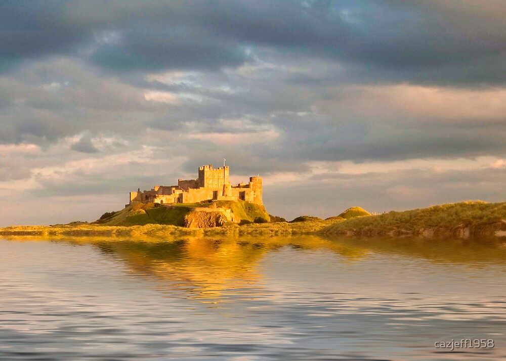 Bamburgh Castle by cazjeff1958
