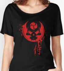 Samurai Death Mask Women's Relaxed Fit T-Shirt