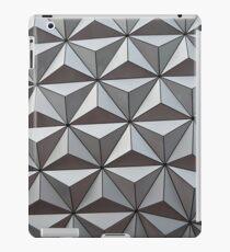 Disney World EPCOT Ball White Pattern iPad Case/Skin