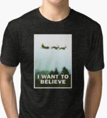 The Xmas Files Tri-blend T-Shirt