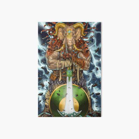 Elephant god Art Board Print