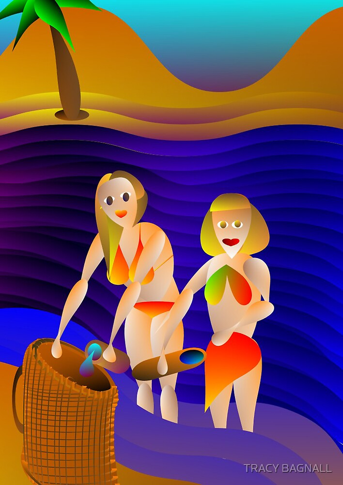 collecting water by TRACY BAGNALL