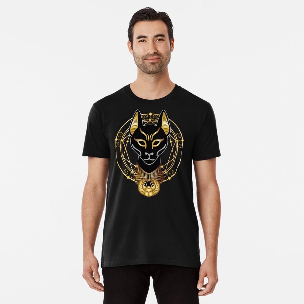 Golden Bastet Premium T-Shirt