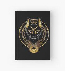 Cuaderno de tapa dura Golden Bastet