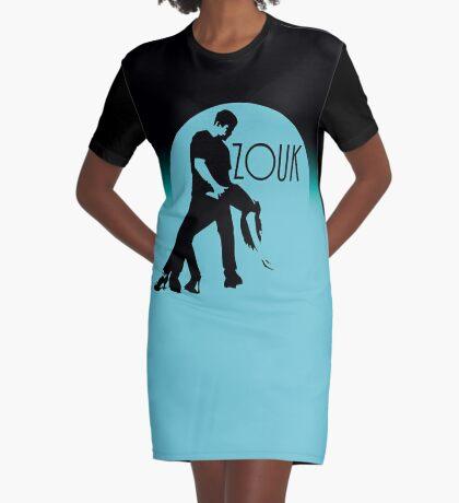 ZOUK - blue moon Graphic T-Shirt Dress