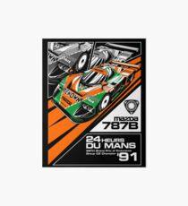 Mazda 787B - '91 Du Mans Champion Art Board