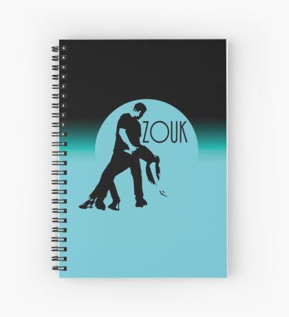 ZOUK - blue moon Spiral Notebook