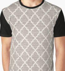 Grey Door Lock Graphic T-Shirt