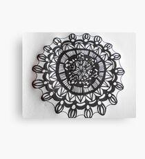 Macro Mandala  Canvas Print