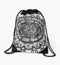 Macro Mandala  Drawstring Bag