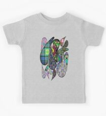 Patterned Teardrops Kids Clothes