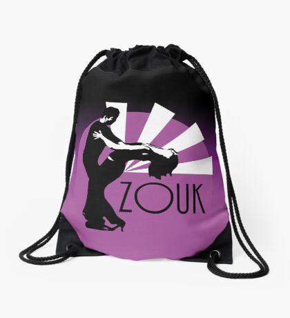 Time to zouk - pink Drawstring Bag