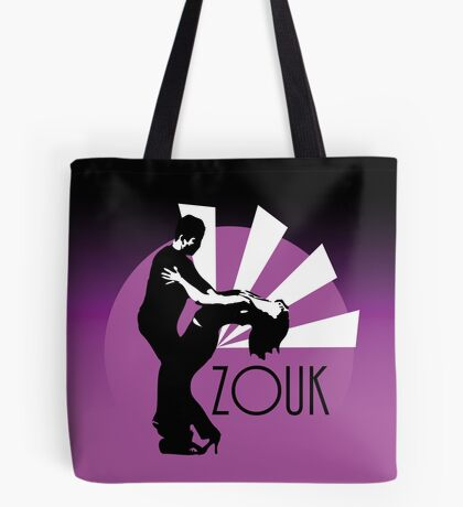 Time to zouk - pink Tote Bag