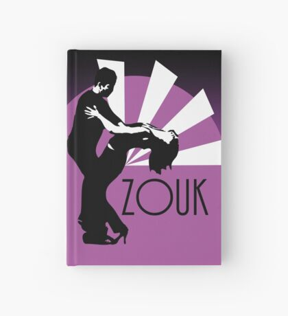 Time to zouk - pink Hardcover Journal