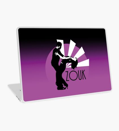 Time to zouk - pink Laptop Skin
