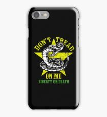 Don't Tread on Me. iPhone Case/Skin