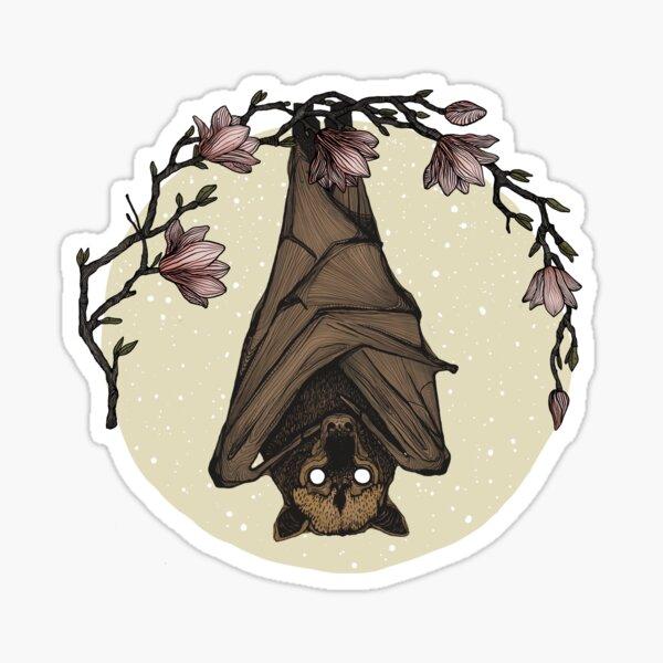 Bat Crazy Sticker