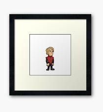 Game Of Thrones Tyrion Lannister Cartoon Framed Print