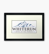 Whiterun, the Jewel of the North Framed Print