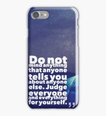 Motivational Inspiring Quotes, designed by Asar Studios  - Henry James iPhone Case/Skin