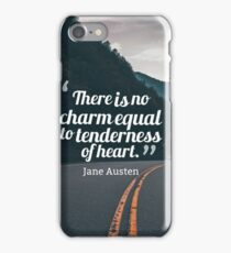 Motivational Inspiring Quotes, designed by Asar Studios  - Jane Austen iPhone Case/Skin