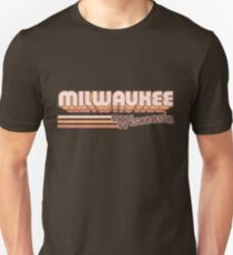 Milwaukee, WI | City Stripes Slim Fit T-Shirt