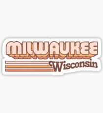 Milwaukee, WI | City Stripes Sticker