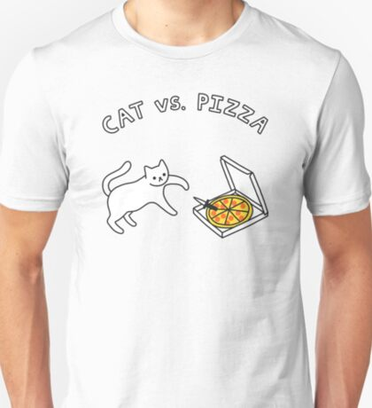 CAT vs. PIZZA T-Shirt