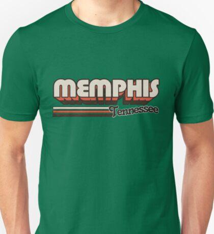 Memphis, TN   City Stripes T-Shirt