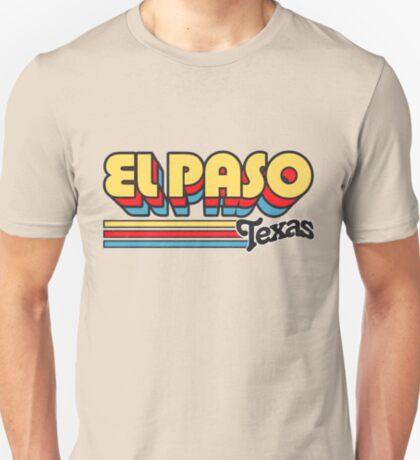 El Paso, TX   City Stripes T-Shirt