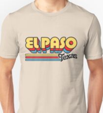 El Paso, TX | City Stripes Slim Fit T-Shirt