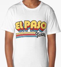 El Paso, TX | City Stripes Long T-Shirt