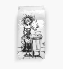 Mrs Lovett - Sweeney Todd Duvet Cover