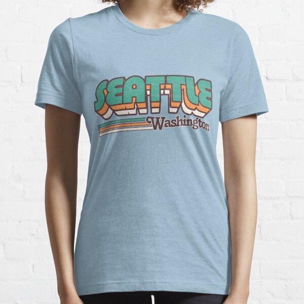 Seattle, WA | City Stripes Essential T-Shirt