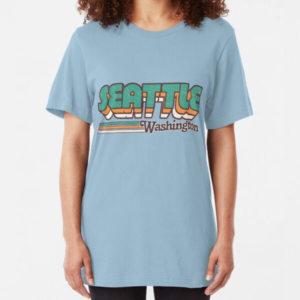 Seattle, WA | City Stripes Slim Fit T-Shirt