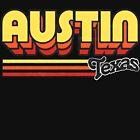 Austin, TX   City Stripes by retroready