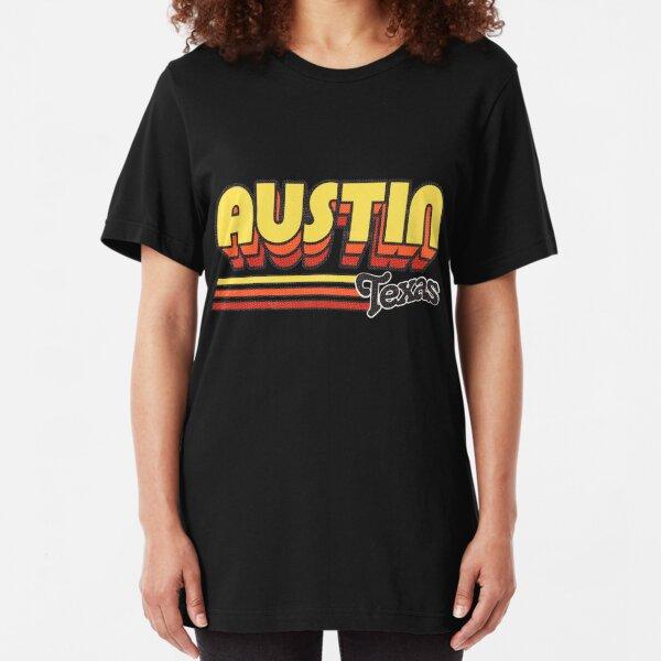 Austin, TX   City Stripes Slim Fit T-Shirt
