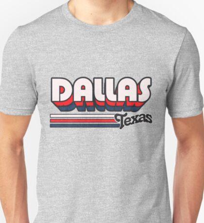 Dallas, TX   City Stripes T-Shirt